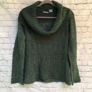 Guinevere Alpaca Blend Cowl Neck  Sweater